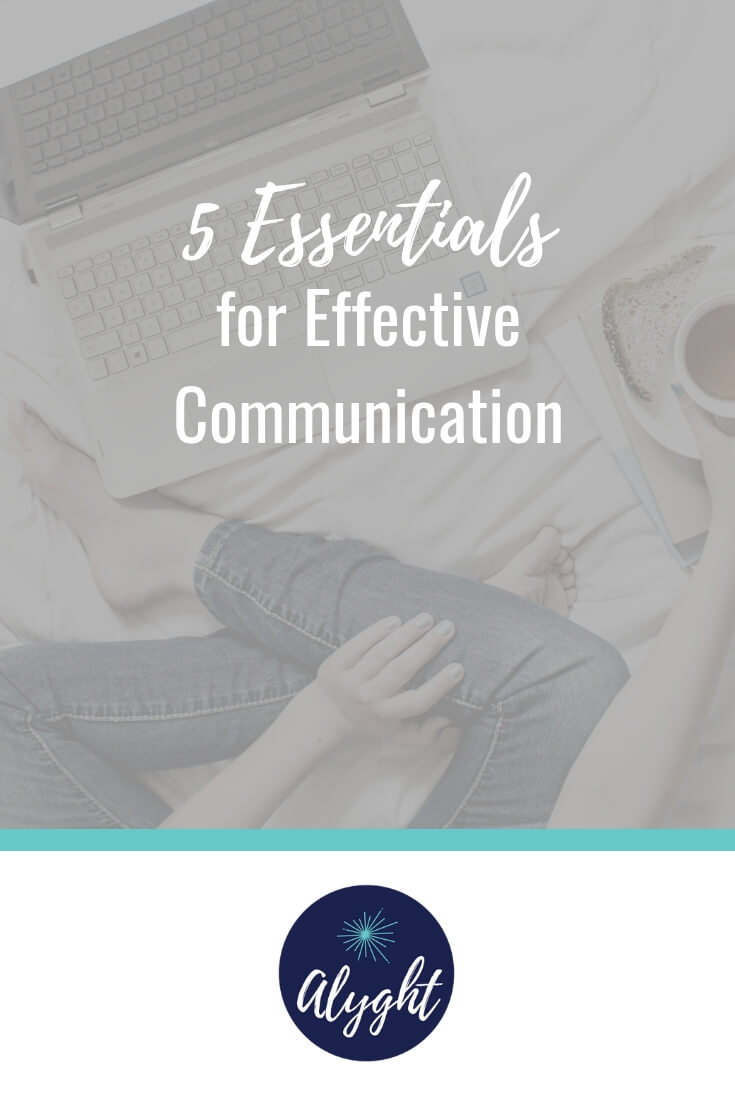 Effective communication is about so much more than information…it's about transformation. How well you communicate…or not…will influence the degree to which you make an impact. Strive to improve your communications by keeping these 5 essentials of communication in mind.