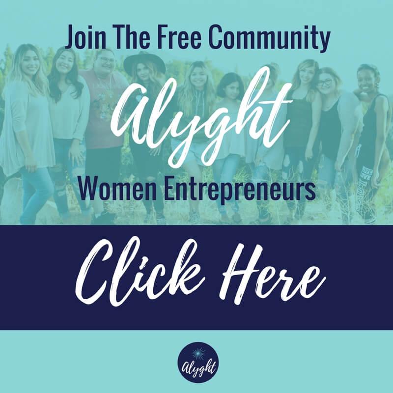 Alyght Women Entrepreneurs