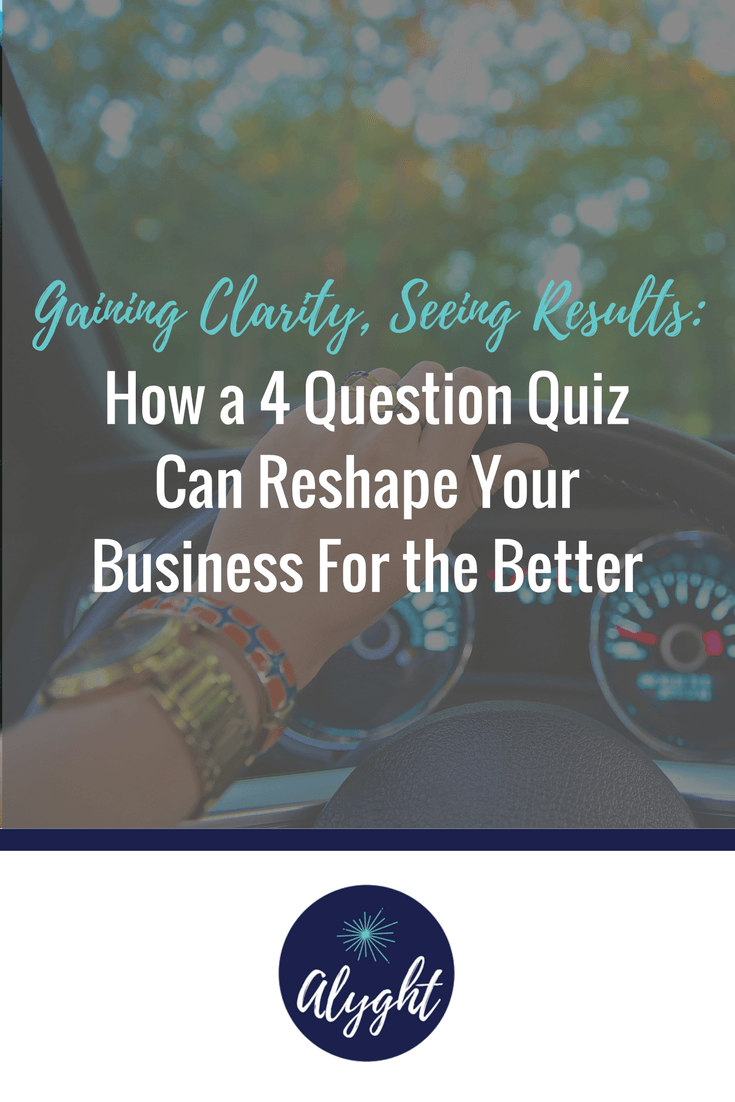 Entrepreneur quiz to help you see your vision clearly and find results