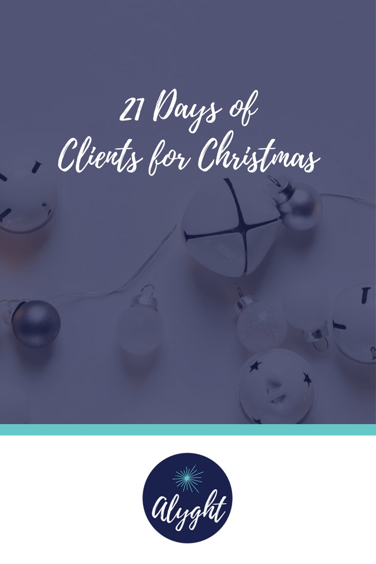 21 Days of strategies, tips and tricks to attract and book your dream clients.