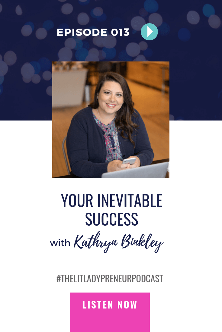 Do you have a plan b in your business or, is failure not an option? Your success is inevitable, if you decide it is. Here are a few tips you can use to kill plan b! #thelitladypreneurpodcast