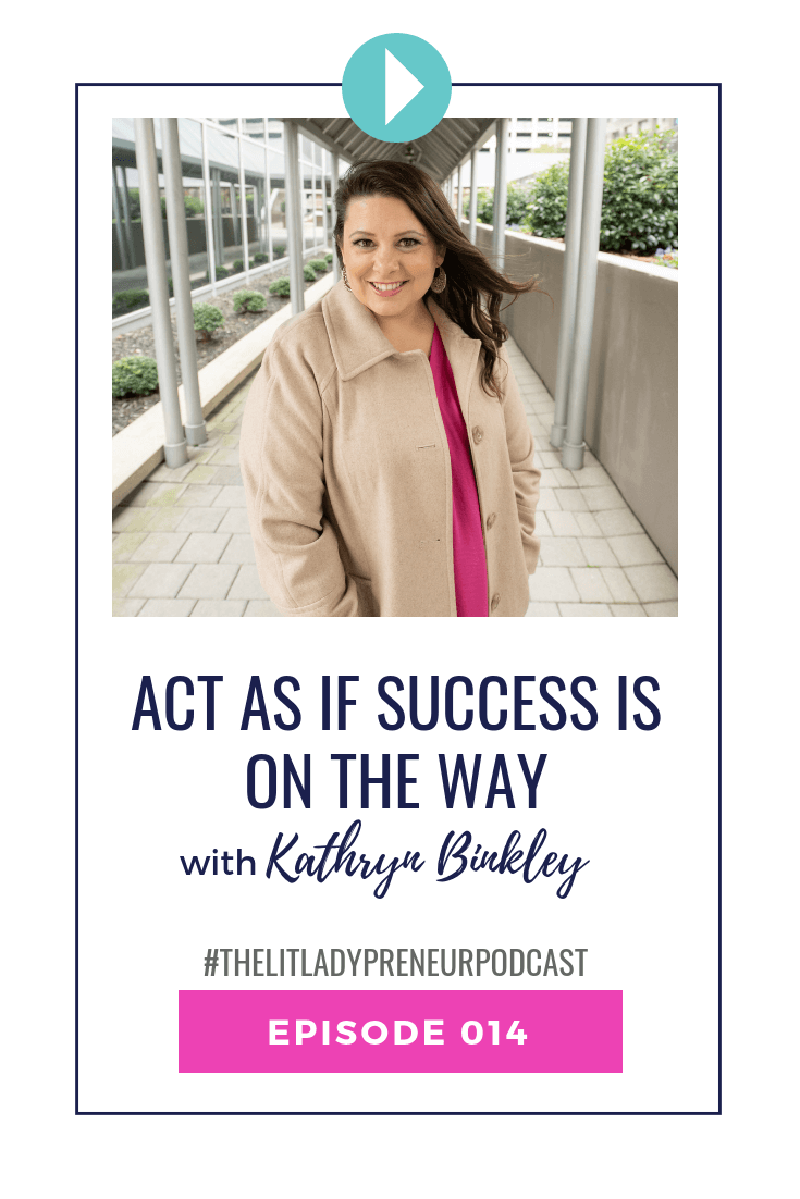 Why do you wait to do so many things in your business and life until after money arrives? If you wanted to welcome money in your life and business, start acting as if it's already on the way. You don't wait to get everything ready for guests to arrive to your home, you prepare in advance, right? So, why do we do the exact opposite when it comes to money!?  #thelitladypreneurpodcast