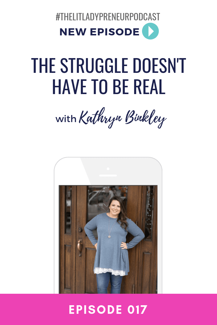 What is your biggest challenge in your business? Most would identify multiple challenges if given the opportunity and maybe even proudly display, #thestruggleisreal BUT I'm here to tell you that the struggle doesn't have to be real! #thelitladypreneurpodcast